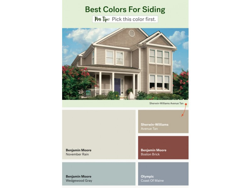 The Most Popular Exterior Paint Colors