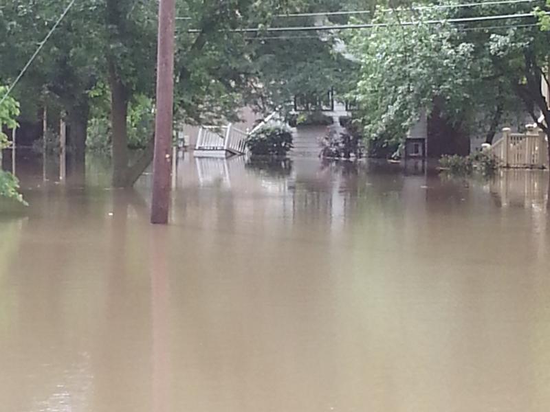 barrington flood photos  june 26  2013