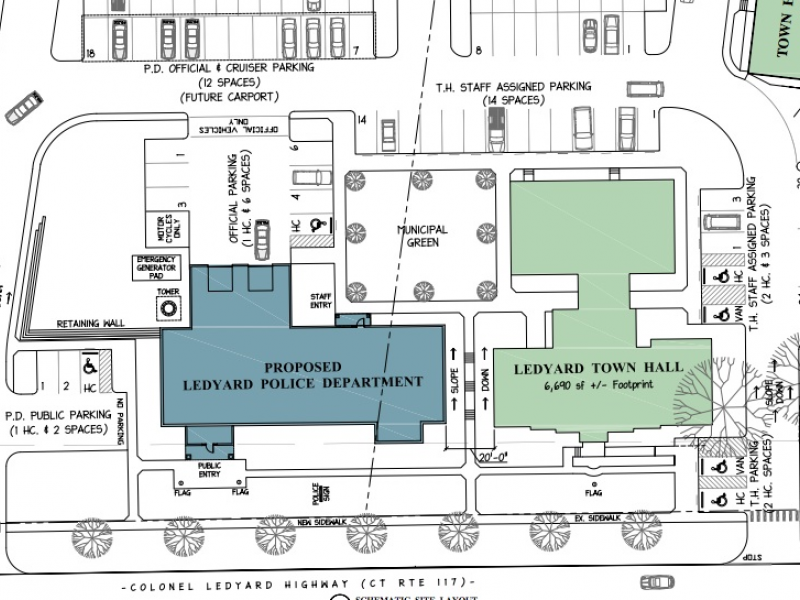 Plans For New Police Station Coming Right Up Ledyard CT