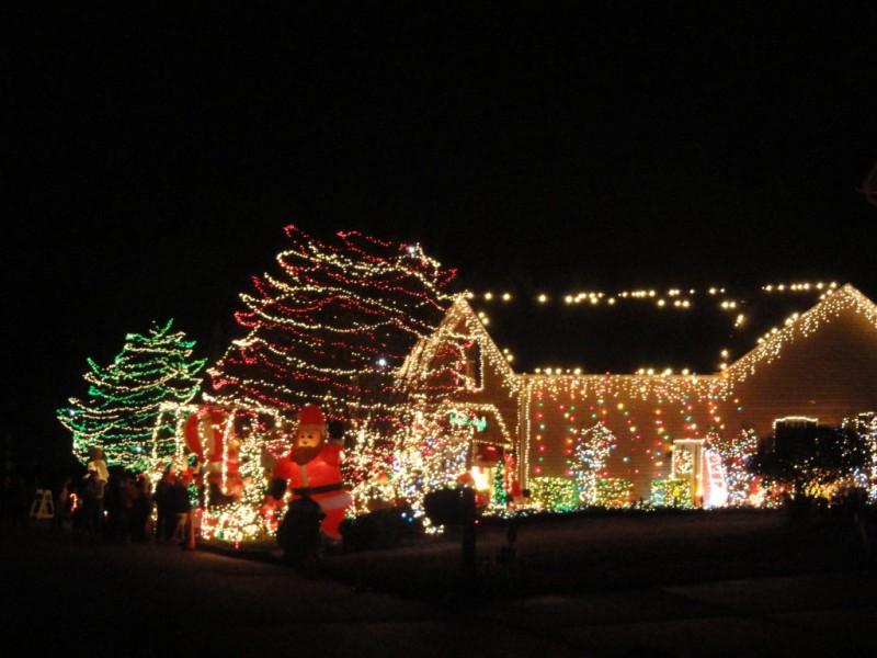 Lights Display A Mauldin Tradition Mauldin SC Patch - Christmas Lights In Sc