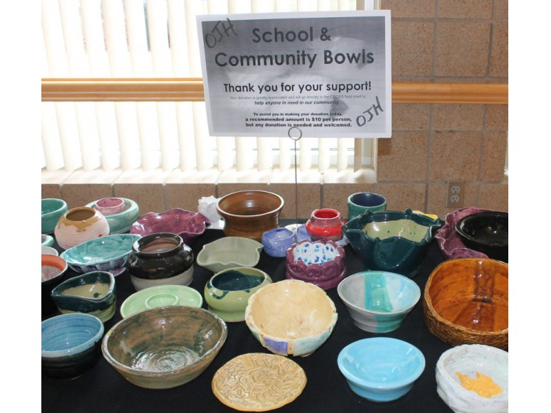 Photos Empty Bowls Event At The Maple Grove Community
