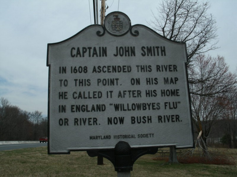SIGN Captain John Smith Aberdeen MD Patch