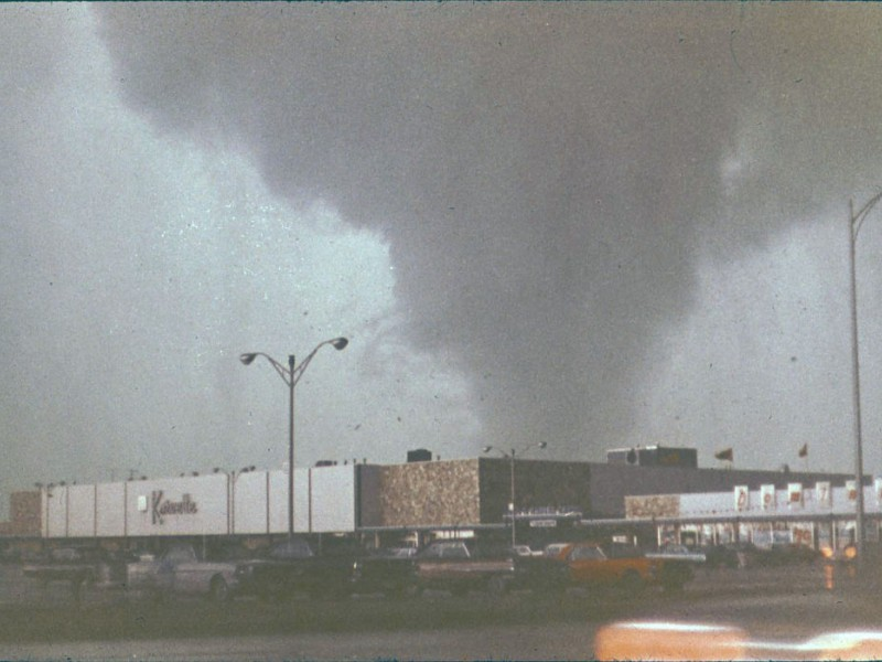 New Photos Of 1967 Oak Lawn Tornado Surface on Fire Safety Week