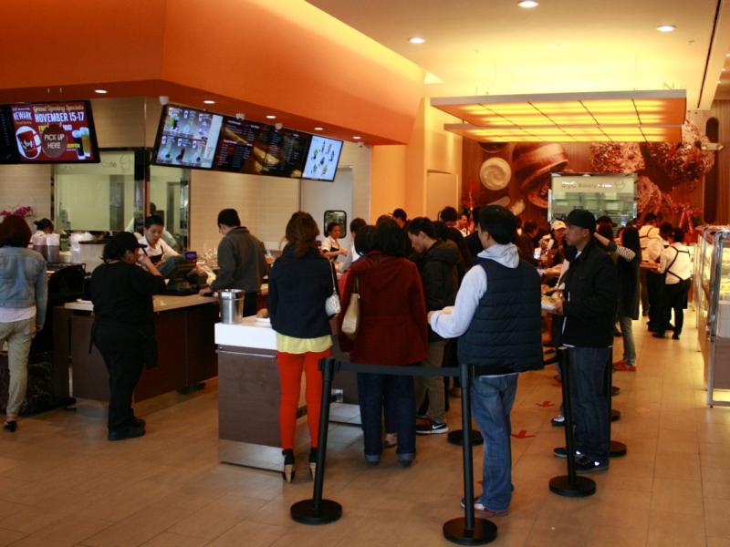 85 degree bakery caf opens in newark newark ca patch - Garden state check cashing newark nj ...