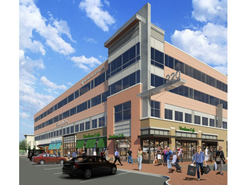 Equinox Chestnut Hill >> Workers 'Top Off' Wegmans Building at Chestnut Hill Square Development [PHOTOS] | Newton, MA Patch