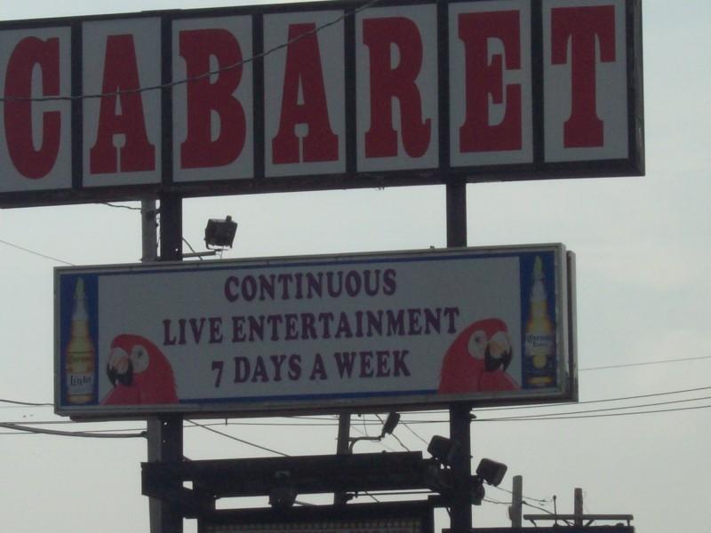 Cabaret lounge peabody