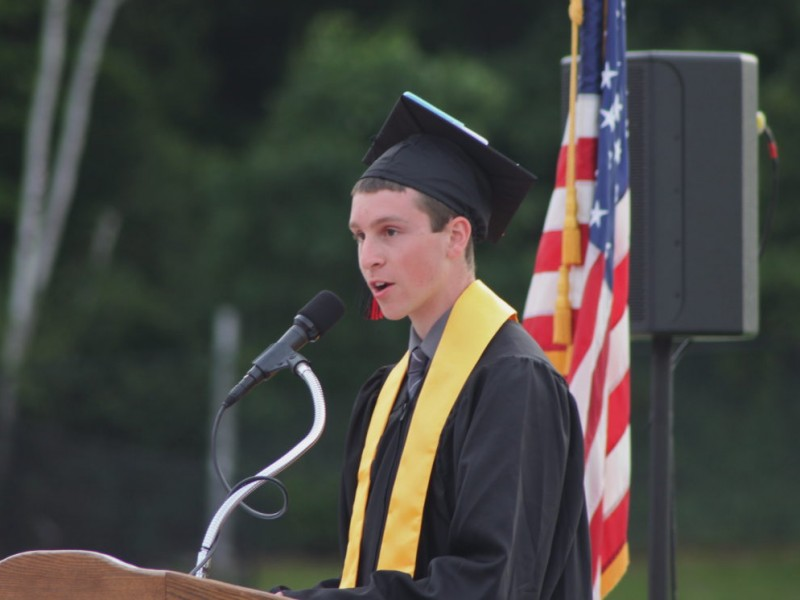 Images from the 2012 Watertown High School Commencement Cermony