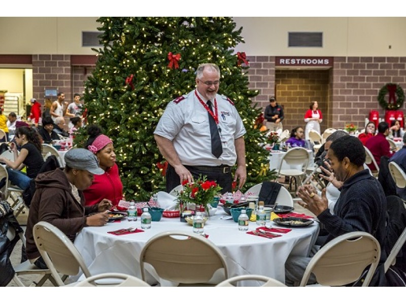 Campbell Soup Company And The Salvation Army Host Community Holiday Dinner Cinnaminson Nj Patch