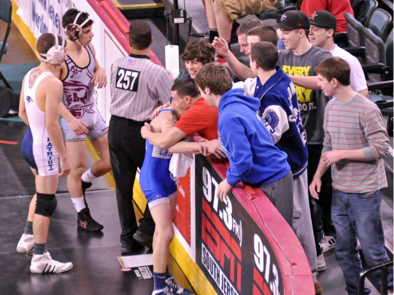 Caldwell Wrestler Tops Dad S Record Caldwells Nj Patch