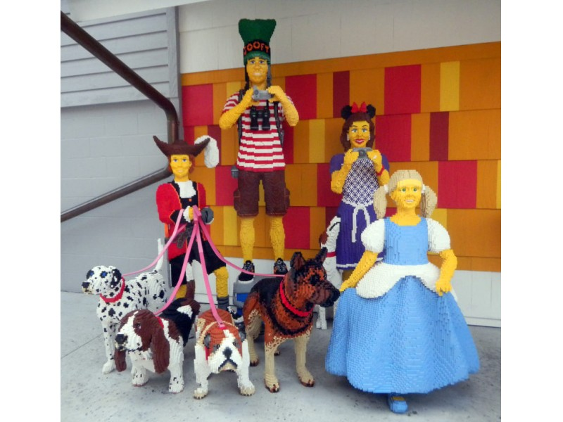 The Lego Art At Downtown Disney New Port Richey Fl Patch