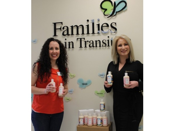 H2O Wins Product Donation for Families in Transition