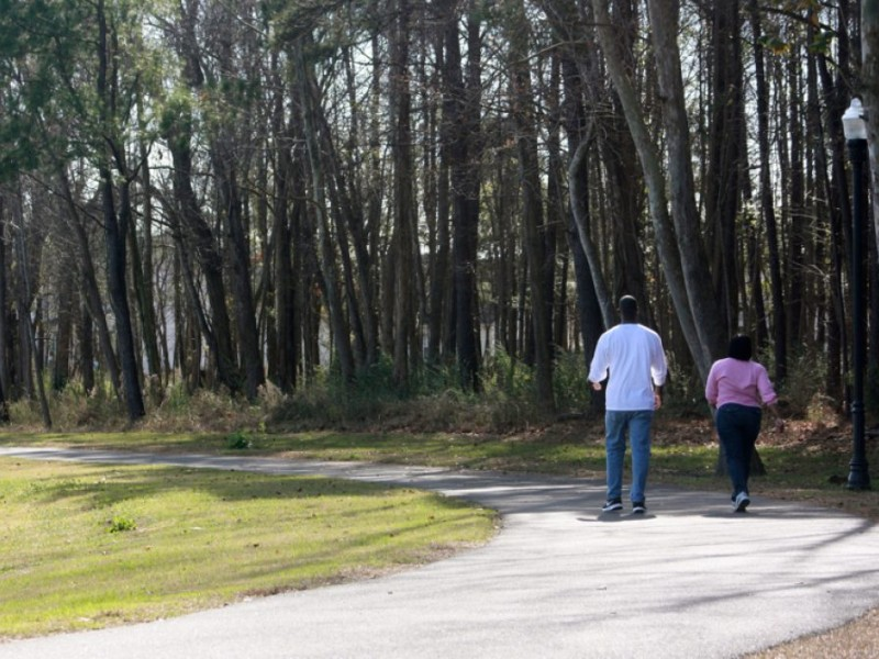 What are the best walking routes in goose creek goose for 88 garden pond drive lexington sc