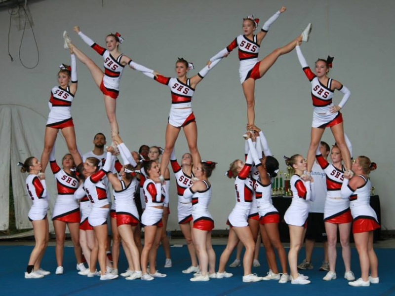 Champions Stratford Cheerleaders Win Rumble In The