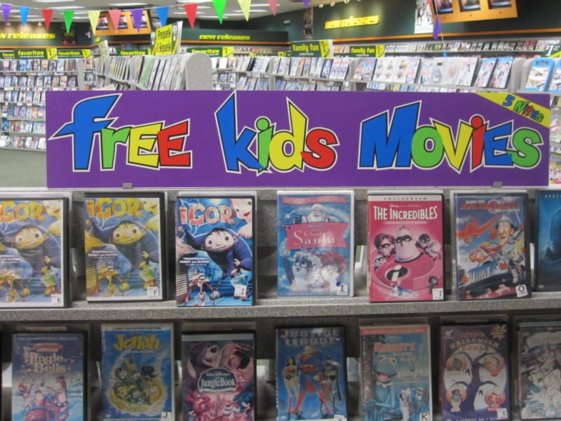 Frugal Family: Free Kids' Movies from Family Video ...