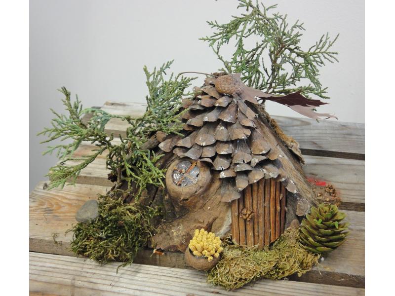 Build A Fairy House Naperville Il Patch