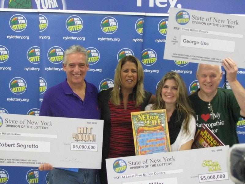 Good Karma Smithtown Man Wins 3 Million Lotto Jackpot