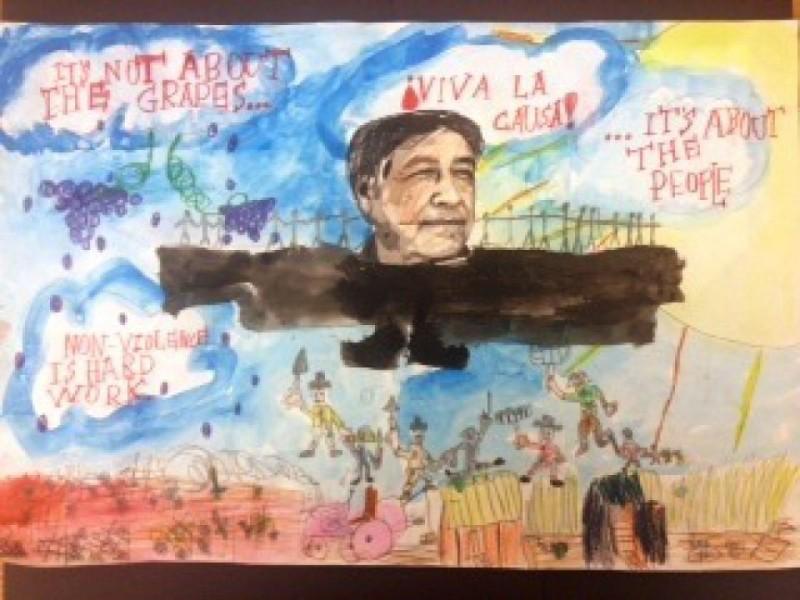 pusd cesar chavez art and essay contest winners altadena ca patch
