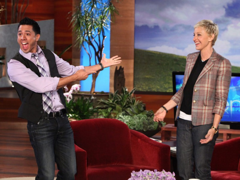 Sachem teacher on the ellen degeneres show sachem ny patch - Ellen show new york ...