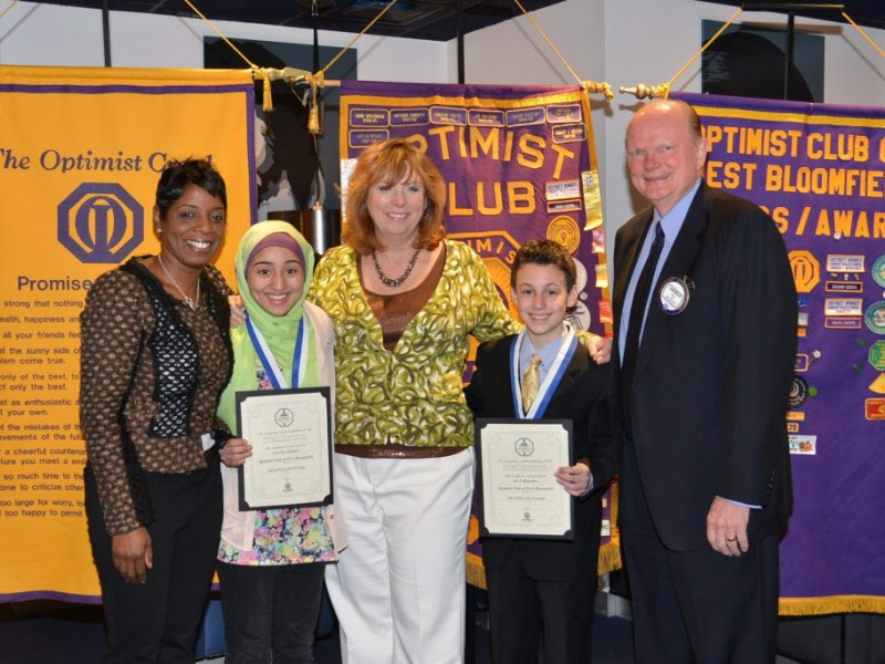 bloomfield hills optimist club essay contest Essay contest today s choices shape district family the optimist club of western int l west branch bloomfield hills mark stoinski roger diederich.