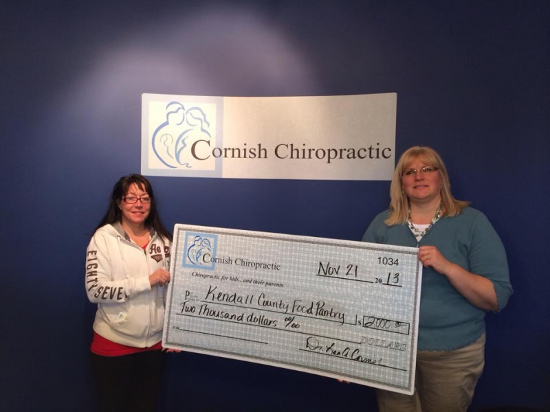Yorkville Chiropractic Community Donate to Kendall County Food