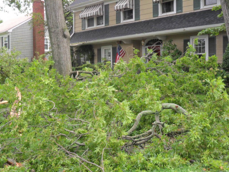 In Photos: Hurricane Irene's Fury - Garden City, NY Patch
