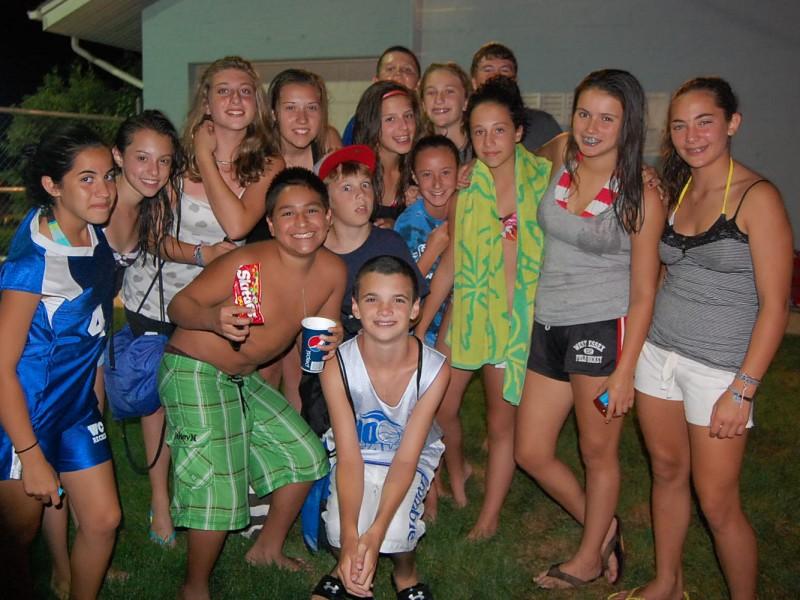 Snapshot Photos Of Teen Splash Party Caldwells Nj Patch