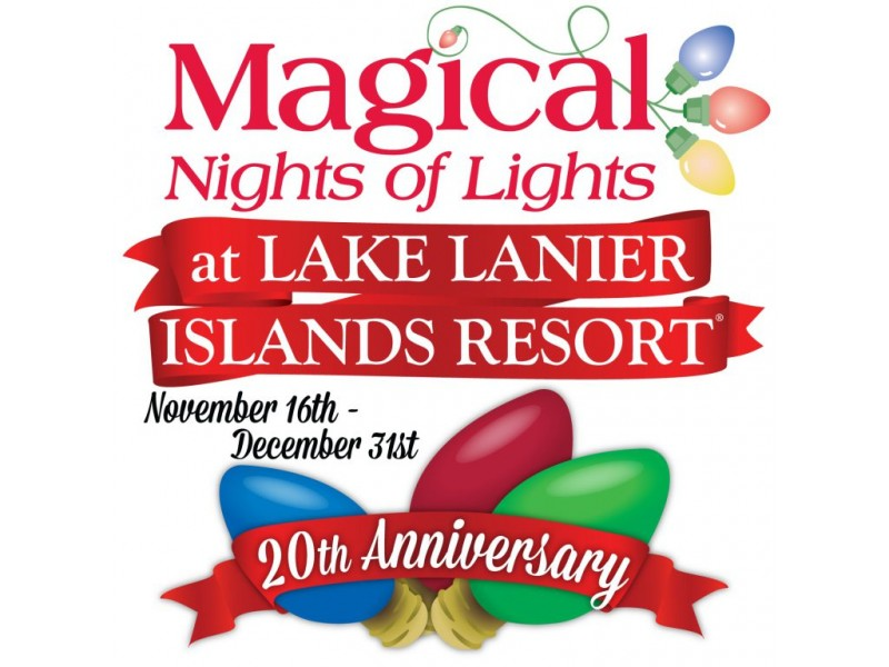 20th Year for Magical Nights of Lights at Lake Lanier Islands ...