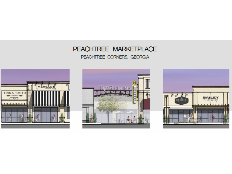 New look new tenants planned for peachtree parkway - Garden state check cashing newark nj ...