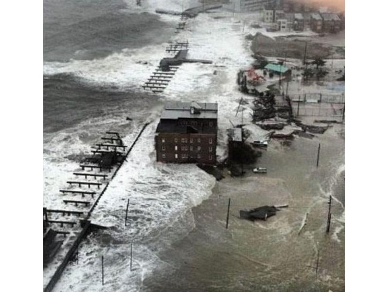Hurricane Sandy Damaged 60 Percent Of Seaside Heights