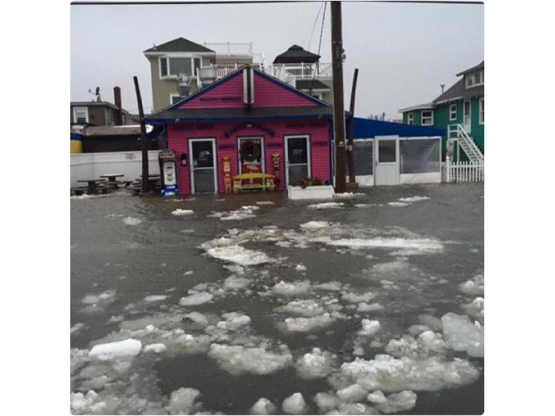 Watch N J Blizzard Causes Widespread Flooding Barnegat