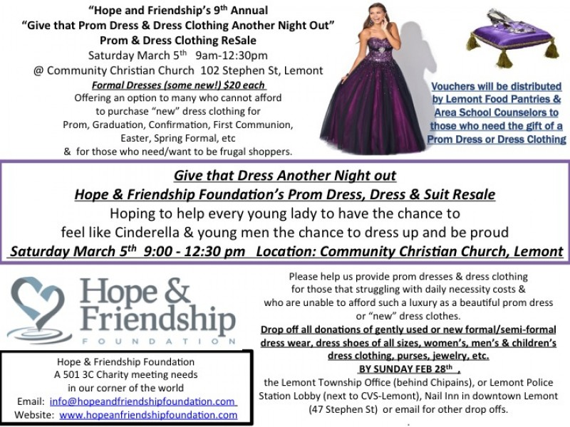 Prom Dress, Suit, and Dress Clothing ReSale This Saturday in ...