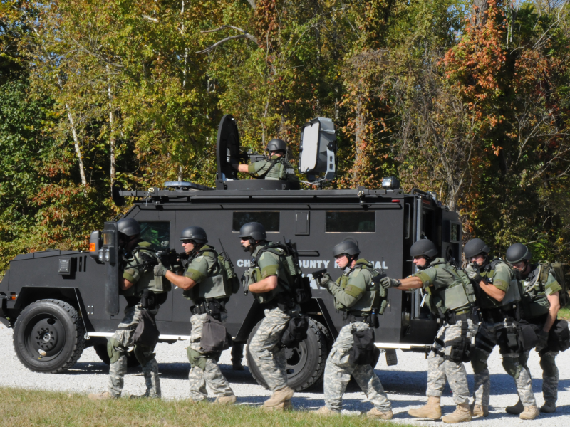 St. Charles Police to Disband SWAT Team, Rejoin Regional ...