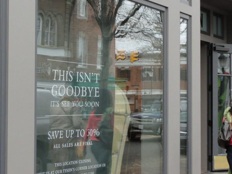 Restoration Hardware Return Policy restoration hardware closing next month - old town alexandria, va