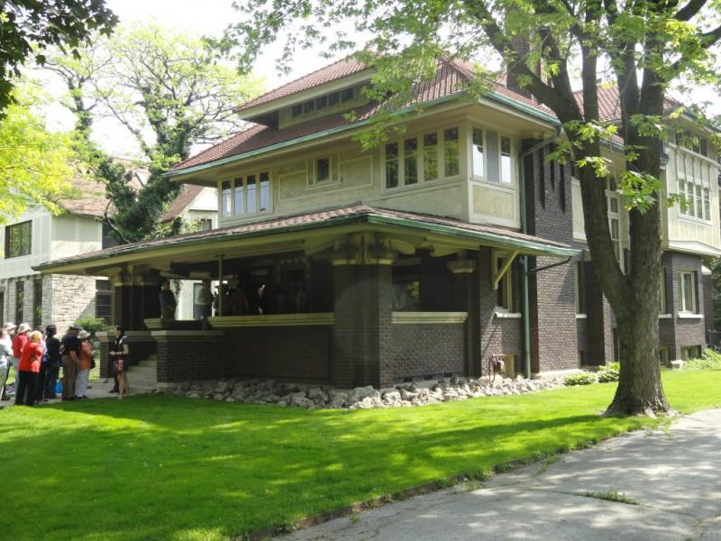 Frank Lloyd Wright House Walk Cessna House Oak Park Il