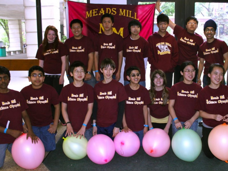 meads mill students place first in science olympiad state competition