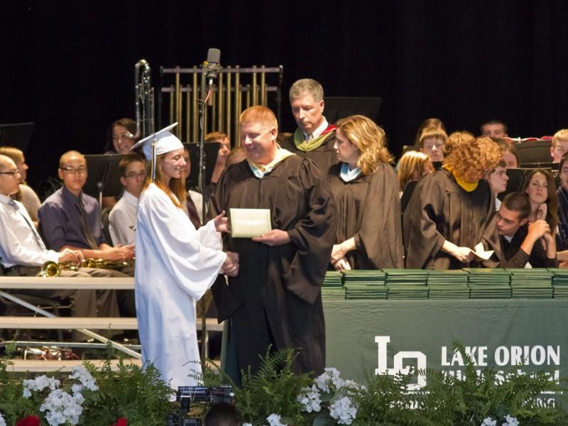 Lake Orion High School Celebrates 2012 Graduates Oakland