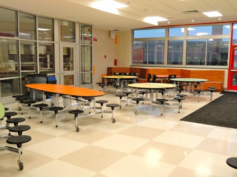 photos peekskill high school unveils new cafeteria tech dept 0