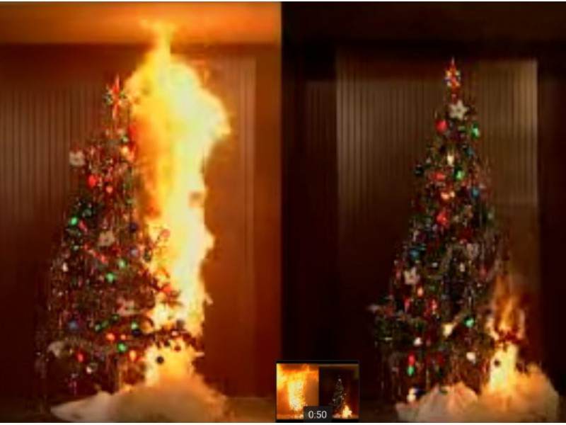 Canton Fire that Killed 7 Reminder of Christmas Tree Danger ...