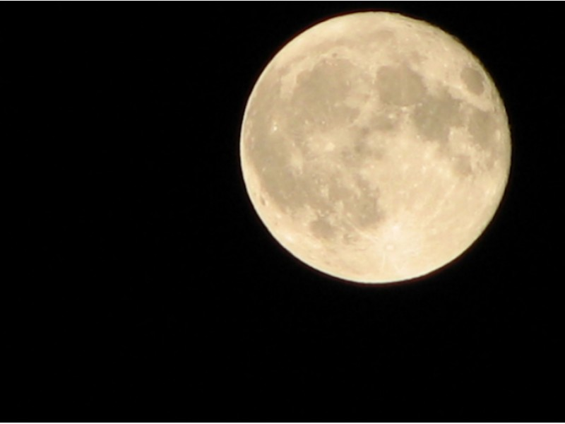 Full Moon Rises for Christmas Day 2015: Viewing Conditions - Royal ...