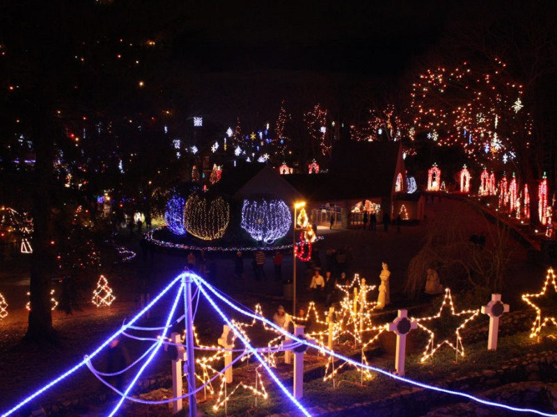 La Salette: It's About More Than Christmas Lights - Attleboro, MA ...