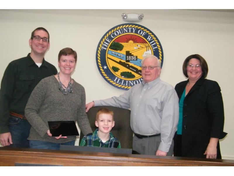 New Lenox Family Rewarded for 'Green Living'
