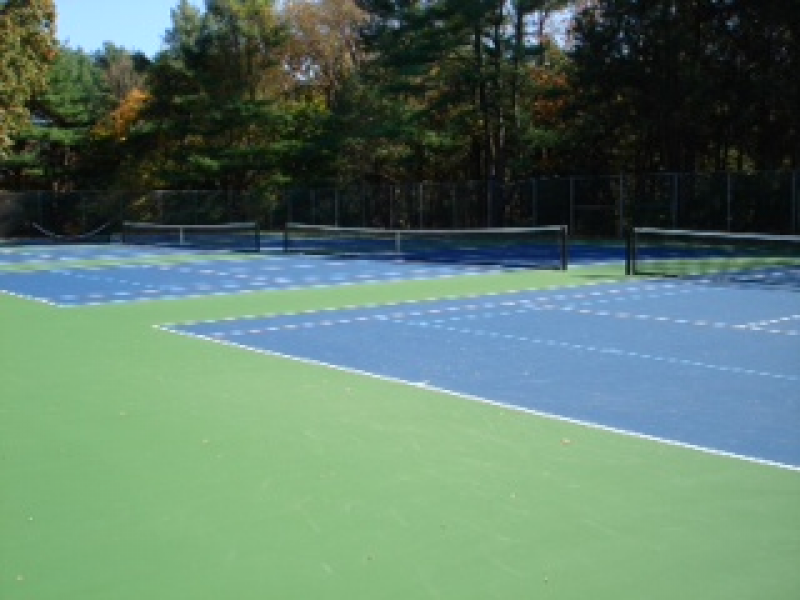 Sycamore Hills Courts Get a Makeover