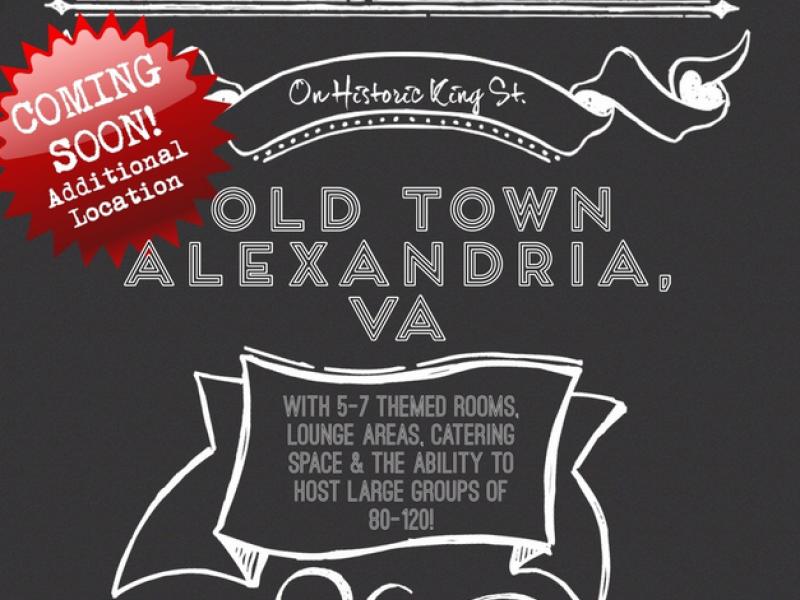 Escape Room Live Custom Escape Room Live' Coming To Alexandria  Old Town Alexandria Va Patch Design Inspiration