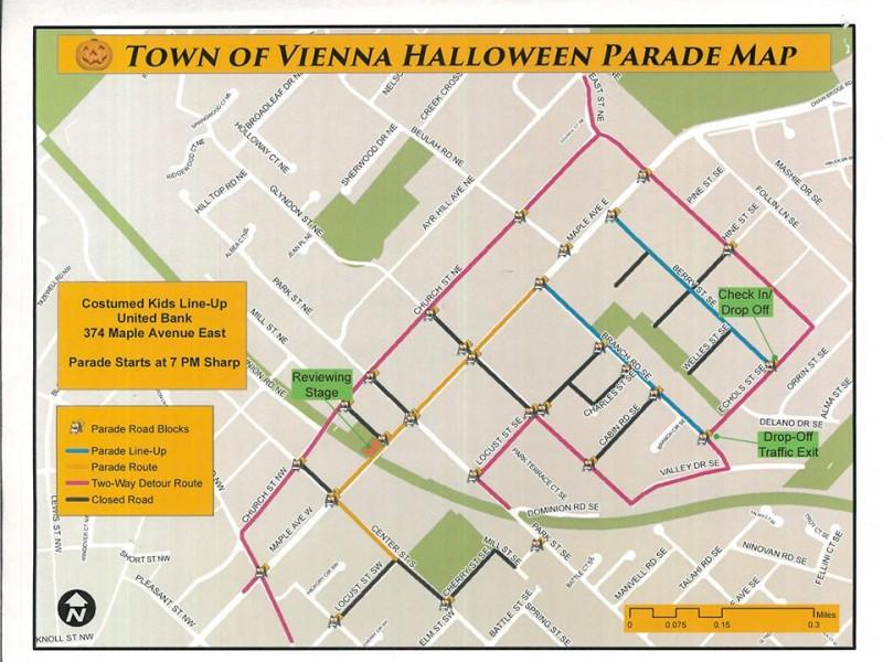 vienna halloween parade wednesday will be held rain or shine - Vienna Va Halloween Parade