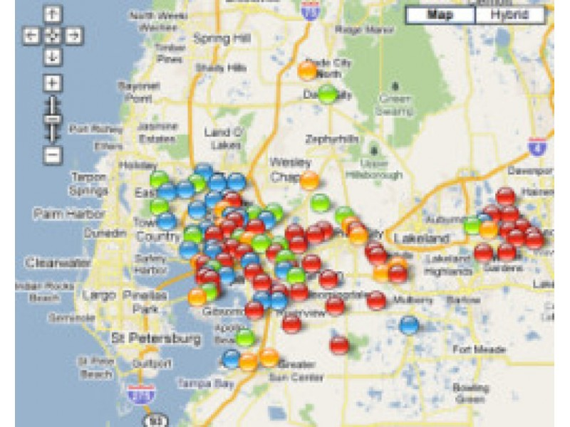 TECO Links To Online Power Outage Map Reports Some Homes - Us power outage map