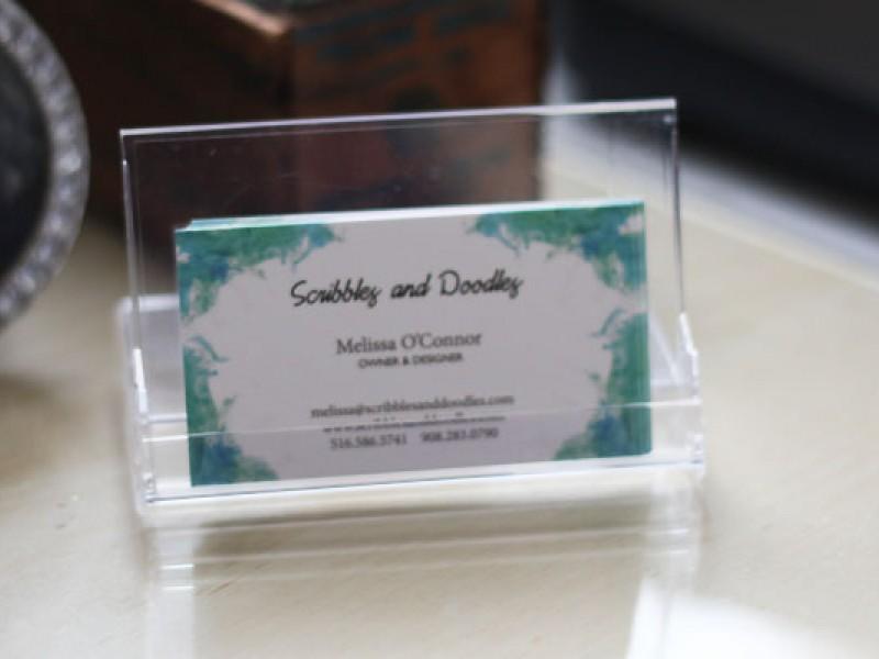Diy Business Card Holder And Desk Calendar Rockville