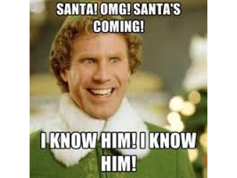 201412549174e263ac9 santa & buddy the elf are coming to altitude trampoline park,Buddy Elf Memes