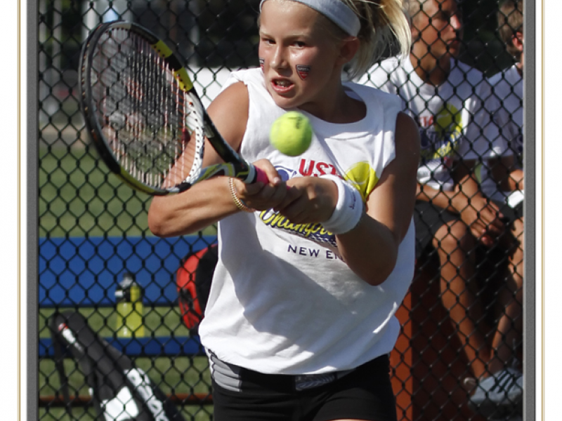 Young Tennis Player Making a Name on the Court | Ellington ...