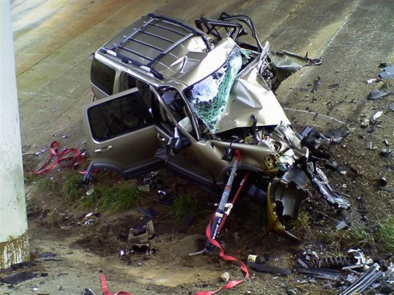 Lakeside Car Crash