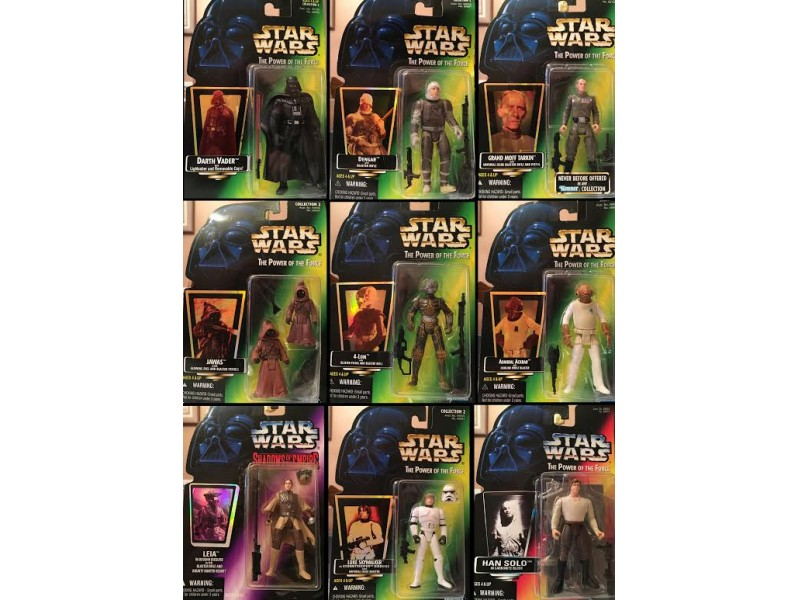 All Star Wars Toys : Kenner star wars toys from to figures all mint